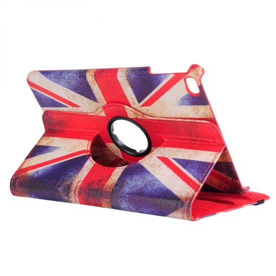 Mobigear 360 Rotating Bookcase voor de iPad Mini 4 (2015) - Vintage Britse vlag
