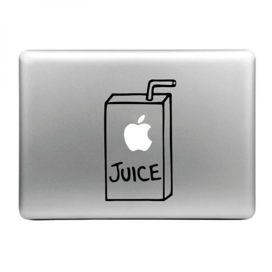 Mobigear Design Sticker voor de Apple MacBook Air / Pro (2008-2015) - Appelsap