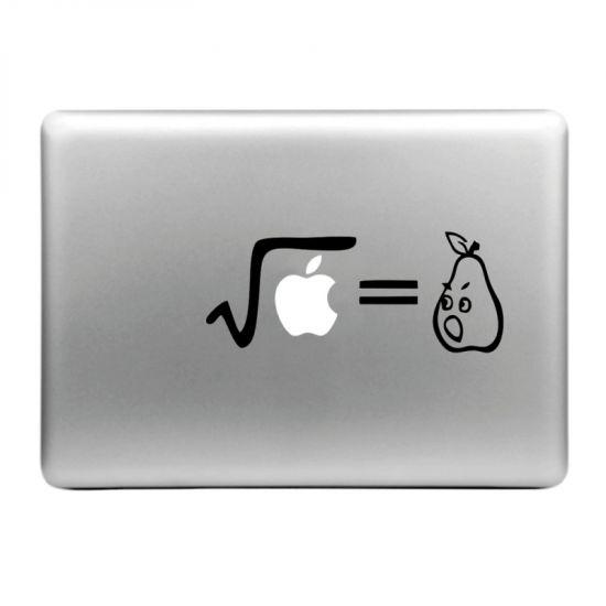 Mobigear Design Sticker voor de Apple MacBook Air / Pro (2008-2015) - Formule