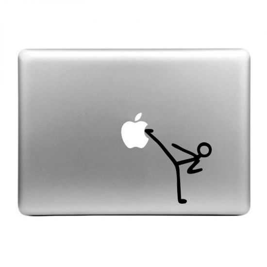 Mobigear Design Sticker voor de Apple MacBook Air / Pro (2008-2015) - Karate