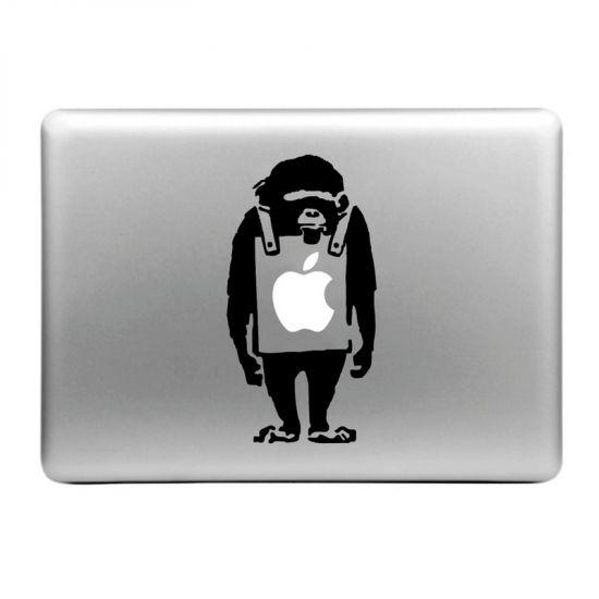 Mobigear Design Sticker voor de Apple MacBook Air / Pro (2008-2015) - Aap