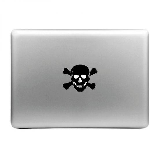 Mobigear Design Sticker voor de Apple MacBook Air / Pro (2008-2015) - Schedel