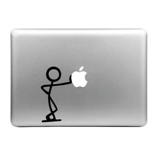Mobigear Design Sticker voor de Apple MacBook Air / Pro (2008-2015) - Lean On Apple
