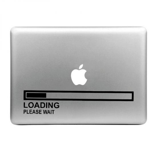 Mobigear Design Sticker voor de Apple MacBook Air / Pro (2008-2015) - Loading