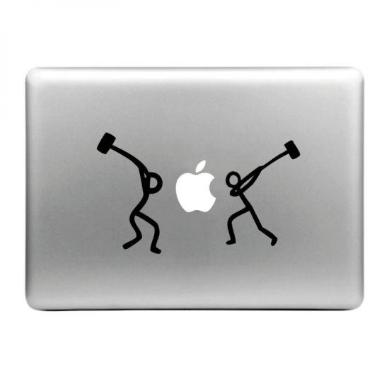 Mobigear Design Sticker voor de Apple MacBook Air / Pro (2008-2015) - Hamer