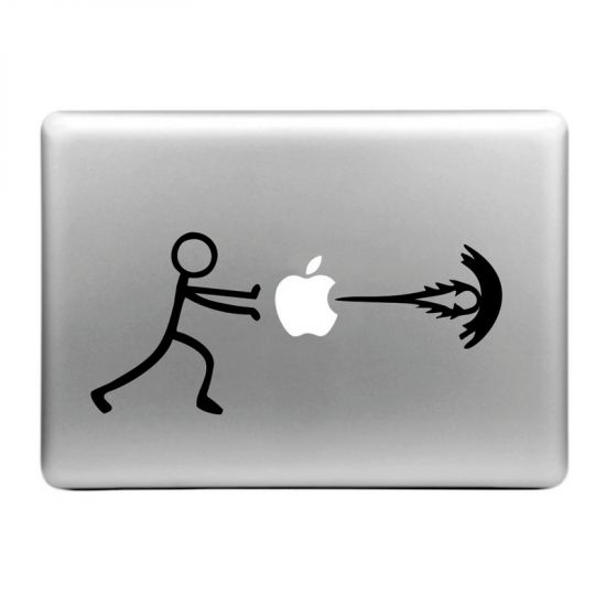 Mobigear Design Sticker voor de Apple MacBook Air / Pro (2008-2015) - Energy Boost