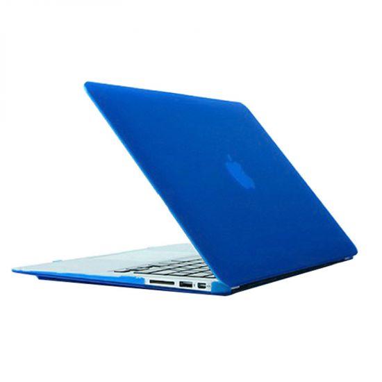 Mobigear Matte Case voor de MacBook Air 13 inch - Blauw