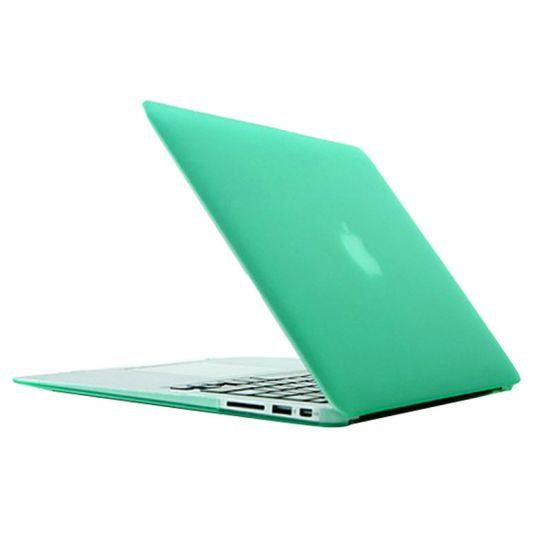 Mobigear Matte Case voor de MacBook Air 13 inch - Groen