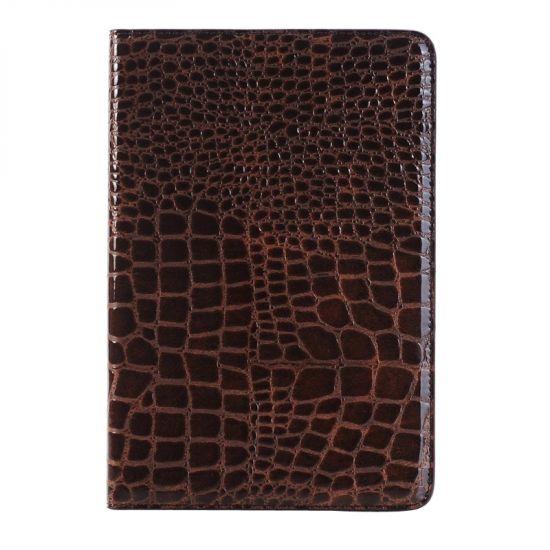 Mobigear Krokodil  Bookcase voor de iPad Mini 4 (2015) - Bruin
