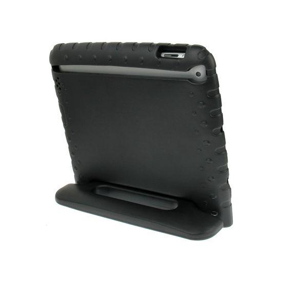 Mobigear Kinderhoes EVA Schuim Backcover voor de iPad 4 (2012) / iPad 3 (2012) / iPad 2 (2011) - Zwart