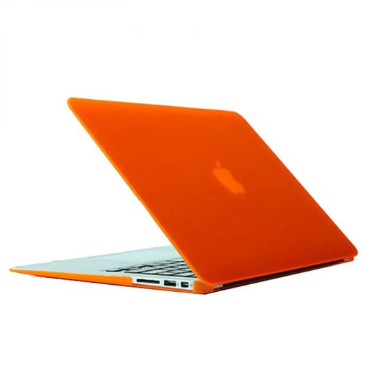 Mobigear Matte Case voor de MacBook Air 13 inch - Oranje