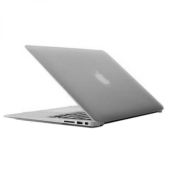 Mobigear Matte Case voor de MacBook Air 13 inch - Transparant
