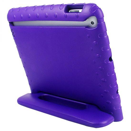Mobigear Kinderhoes EVA Schuim Backcover voor de iPad 4 (2012) / iPad 3 (2012) / iPad 2 (2011) - Paars