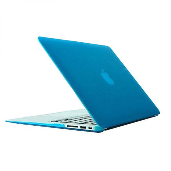 Mobigear Matte Case voor de MacBook Air 13 inch A1369 / A1466 - Blauw