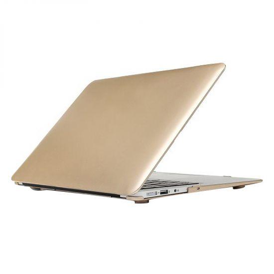 Mobigear Metallic Case voor de MacBook Air 11 inch - Goud