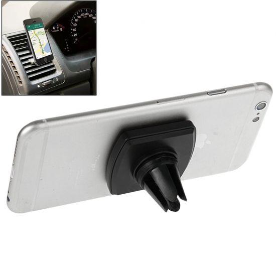 Mobigear Magneet Ventilatierooster Telefoonhouder Auto Universeel - Zwart