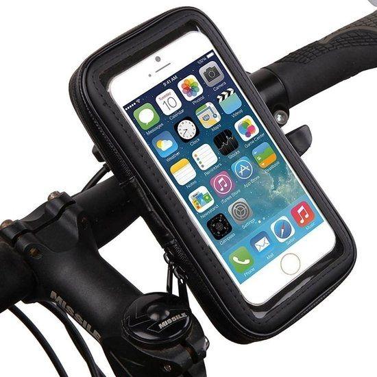 Mobigear Bike Console  Telefoonhouder Fiets voor de Apple iPhone SE (2020) / 8 / 7 / 6(s) - Zwart