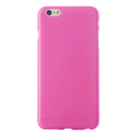 Mobigear Color TPU Backcover voor de iPhone 6(s) - Magenta