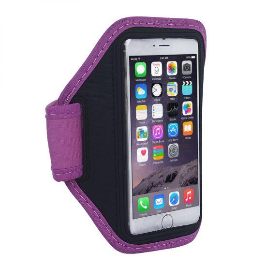 Mobigear Neopreen Sportarmband voor de iPhone 6(s) - Magenta