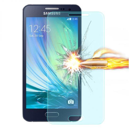 Mobigear Gehard Glas Screenprotector voor de Samsung Galaxy A3