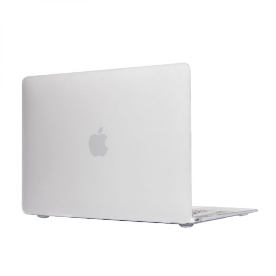 Mobigear Matte Case voor de MacBook 12 inch A1534 - Wit