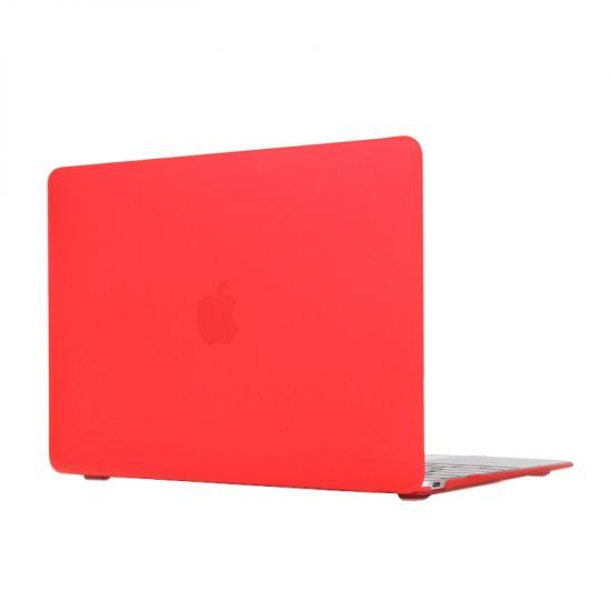 Mobigear Matte Case voor de MacBook 12 inch - Rood