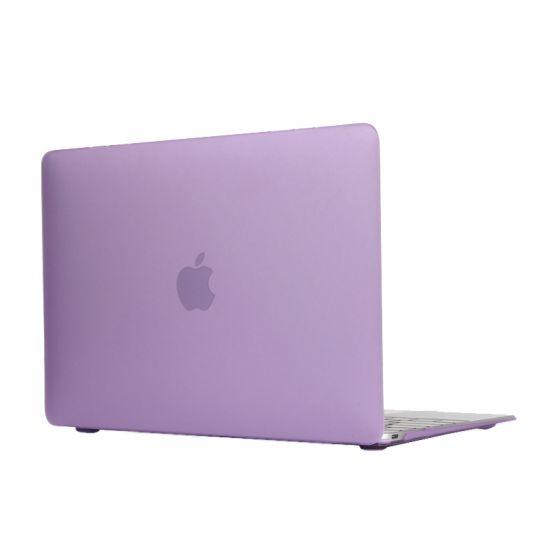 Mobigear Matte Case voor de MacBook 12 inch - Paars