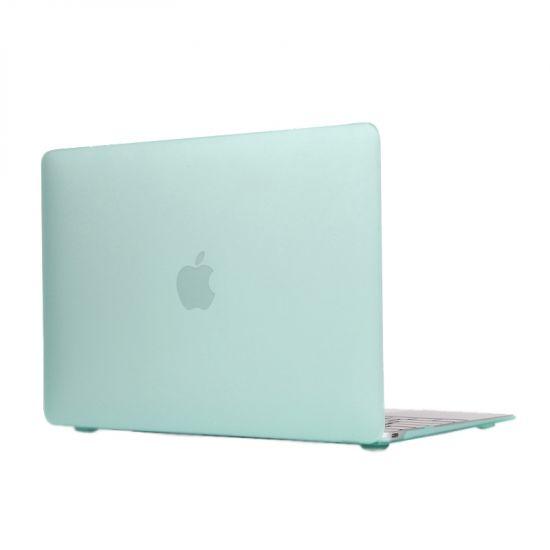 Mobigear Matte Case voor de MacBook 12 inch - Mint