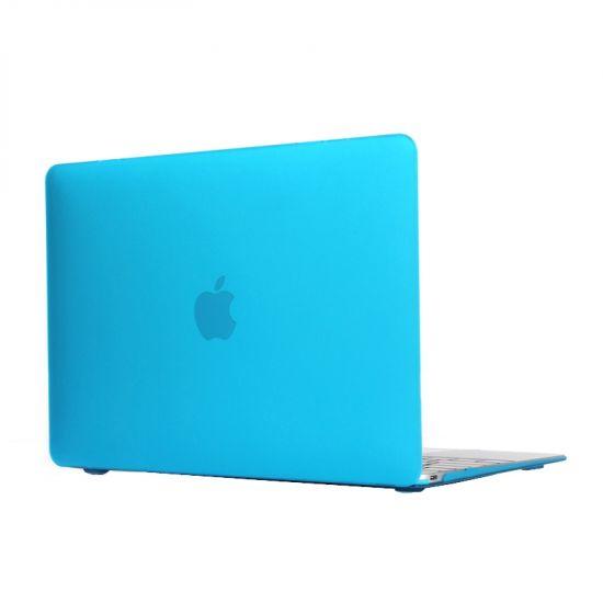 Mobigear Matte Case voor de MacBook 12 inch - Blauw