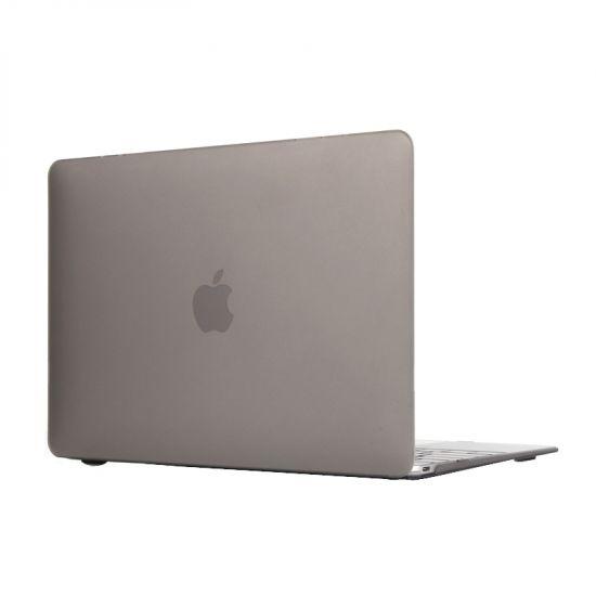 Mobigear Matte Case voor de MacBook 12 inch - Grijs