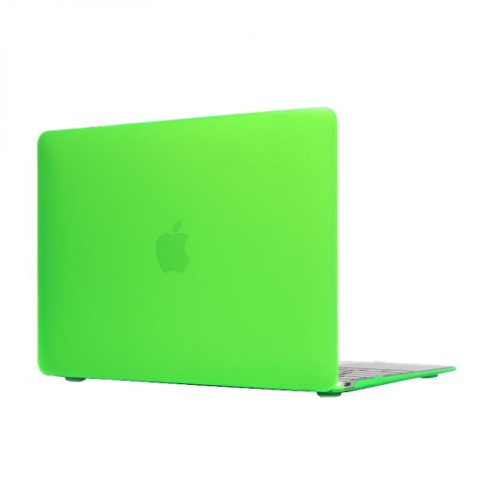 Mobigear Matte Case voor de MacBook 12 inch - Groen