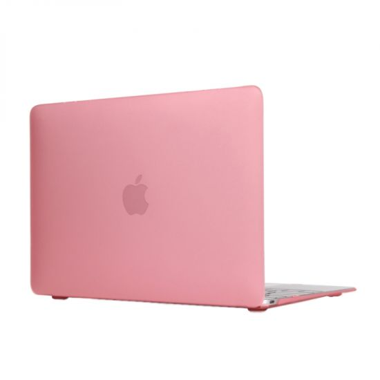 Mobigear Matte Case voor de MacBook 12 inch A1534 - Roze