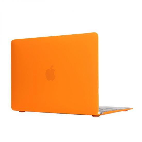 Mobigear Matte Case voor de MacBook 12 inch - Oranje