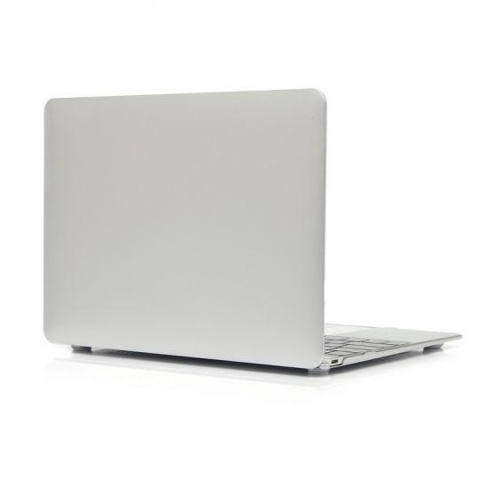 Mobigear Metallic Case voor de MacBook 12 inch A1534 - Zilver