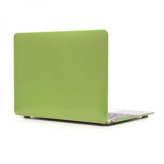 Mobigear Metallic Case voor de MacBook 12 inch - Groen