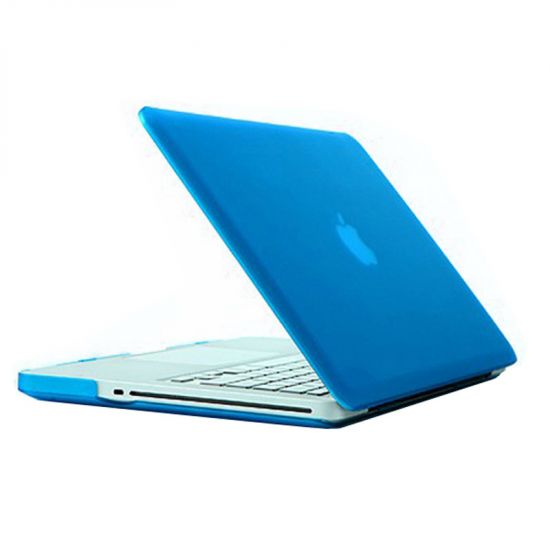 Mobigear Matte Case voor de MacBook Pro 13 inch - Blauw