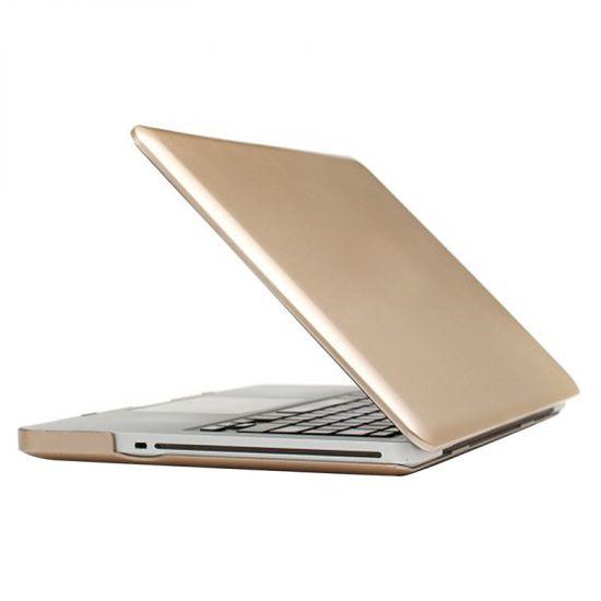 Mobigear Metallic Case voor de MacBook Pro 13 inch - Goud