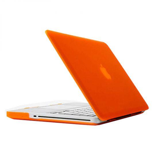 Mobigear Matte Case voor de MacBook Pro 15 inch - Oranje