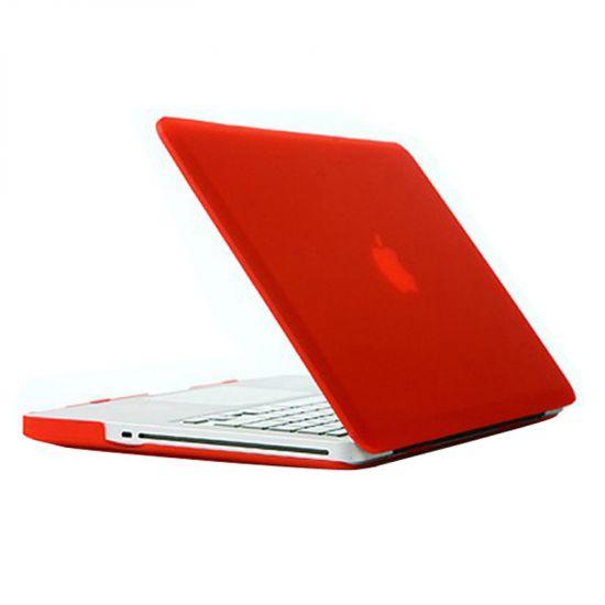 Mobigear Matte Case voor de MacBook Pro 15 inch - Rood