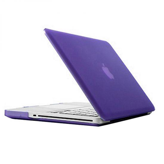 Mobigear Matte Case voor de MacBook Pro 15 inch - Paars