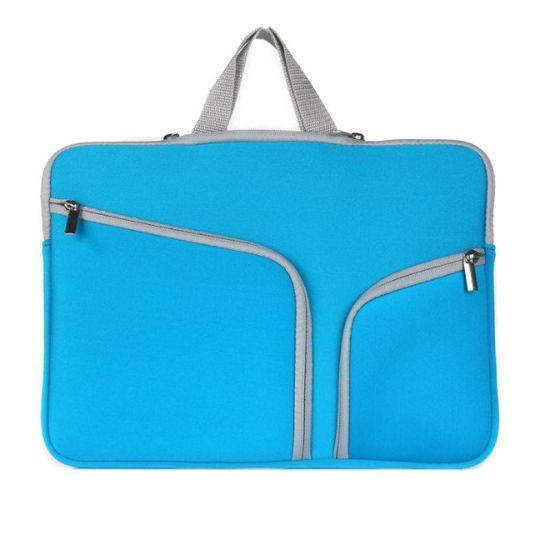 Mobigear Basic Neopreen Laptoptas Universeel Laptop 15 / 16 inch - Blauw
