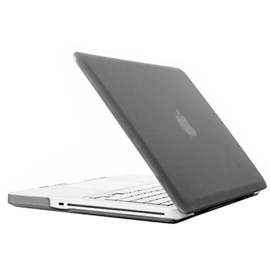 Mobigear Matte Case voor de MacBook Pro 15 inch - Grijs