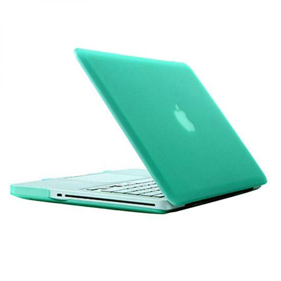 Mobigear Matte Case voor de MacBook Pro 15 inch - Groen