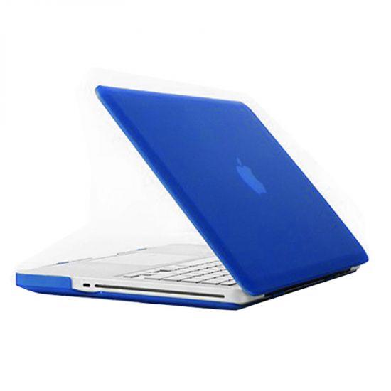 Mobigear Matte Case voor de MacBook Pro 15 inch - Blauw