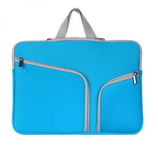 Mobigear Basic Neopreen Laptoptas Universeel MacBook Air 11 inch - Blauw