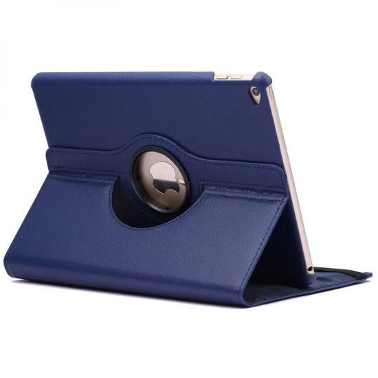 Mobigear 360 Rotating  Bookcase voor de iPad Air 2 (2014) - Donkerblauw