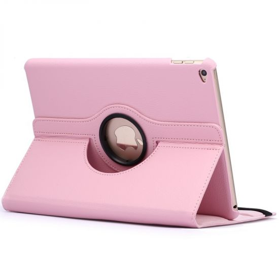 Mobigear 360 Rotating Bookcase voor de iPad Air 2 (2014) - Roze