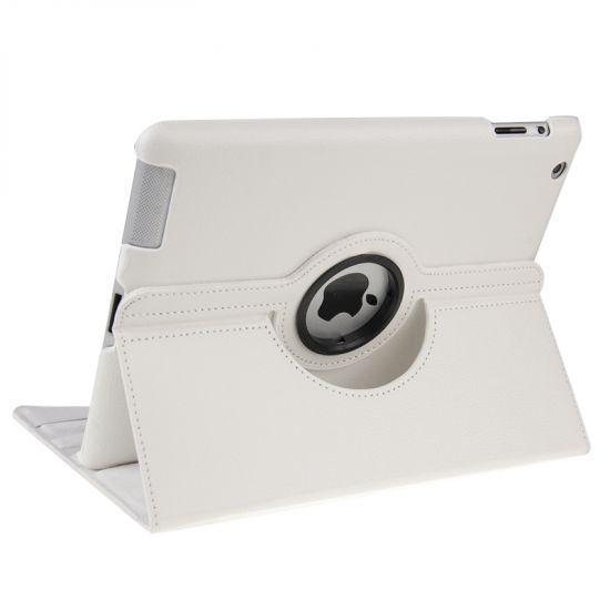 Mobigear 360 Rotating Bookcase voor de iPad 4 (2012) / iPad 3 (2012) / iPad 2 (2011) - Wit