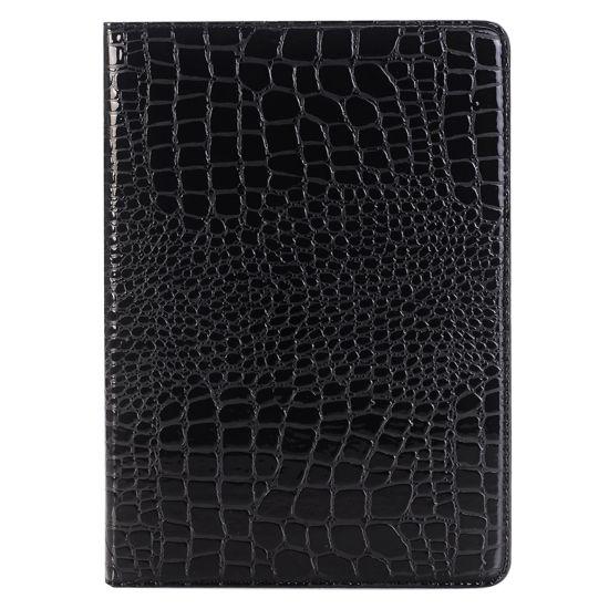 Mobigear Krokodil  Bookcase voor de iPad Pro 9.7 (2016) - Zwart