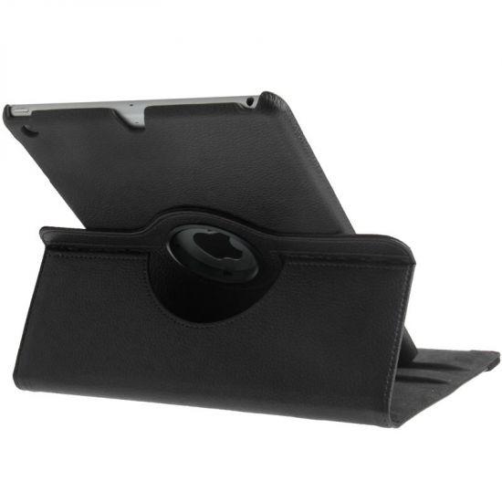 Mobigear 360 Rotating Bookcase voor de iPad 6 (2018) / iPad 5 (2017) / iPad Air 1 (2013) - Zwart